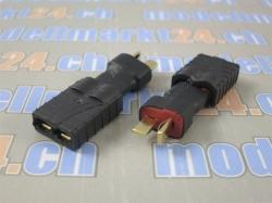 Adapter T-Plug Stecker auf Traxxas Buchse 2Stk.
