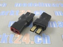 Adapter Traxxas Stecker auf T-Plug Buchse 2Stk.
