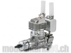 DLE DL-Engines 20RA Benzin Motor mit Heckauslass und el. Z..