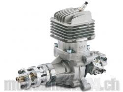 DLE DL-Engines 35RA Benzin Motor mit Heckauslass und el. Z..