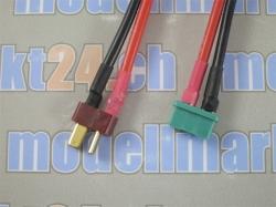 1Stk. Verbingungskabel T-Plug Stecker auf MPX Stecker