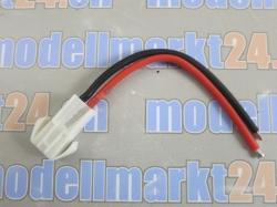 1Stk. Batteriekabel JST ELR-02V 10cm gerade, Stecker