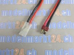 1Stk. Verbingungskabel T-Plug (Deans) Stecker auf Tamiya B..
