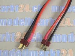 1Stk. Verbingungskabel T-Plug (Deans) Stecker auf T-Plug (..