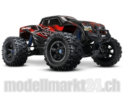 Traxxas X-Maxx 1:6 Brushless 4WD ARTR Monster Truck Rot