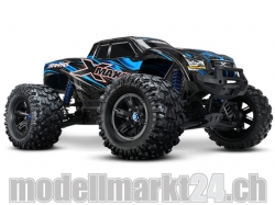 Traxxas X-Maxx 1:6 Brushless 4WD ARTR Monster Truck Blau