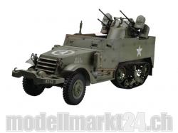 Halbkettenfahrzeug M16 Flack-Halbkette 1/16 mit Licht- und..