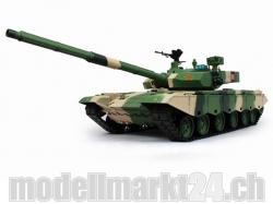 Chinesischer Kampfpanzer ZTZ-99A 1/16 BB Schuss-/Sound-/Ra..