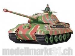 Panzer Königstiger mit Porsche Turm IR 1/16 Sound-/Rauchfu..