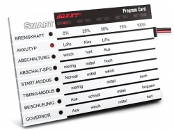 ROXXY Smart Control Program Card Deutsch