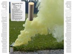 Rauchpatronen AX-18 Farbe Gelb, 5Stk. ca. 4Min