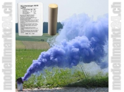 Rauchpatronen AX-18 Farbe Blau, 5Stk. ca. 4Min