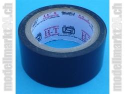 Klebeband PVC 25mm / 5m Schwarz