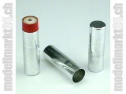 Aluhülse für 18mm Raketenmotoren