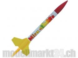 Modellrakete Mira 338x26mm, 55g, 55 bis 410m Höhe