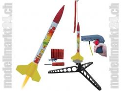 Modellrakete Starterset Mira 338x26mm, 55g, 55 bis 410m Höhe