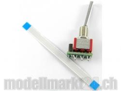 2-Stufen-Schalter (Lang) für DS Fernsteuerung von Jeti