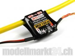 Jeti MUI150EX Spannungs- und Stromsensor 60V/150A für Dupl..