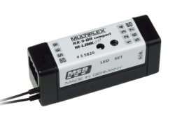Multiplex Empfänger RX-9-DR compact M-LINK 2.4Ghz
