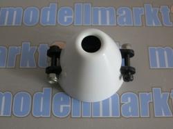 RFM CFK-Spinner D30/d3 mit Kühlloch, int. Mittelteil, hand..