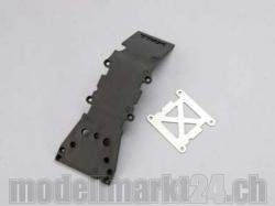Traxxas 4937A Skidplate Front Plastic (grau)