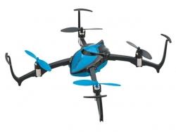 Dromida Verso Inversion Drohne RTF Blau, Quadrocopter