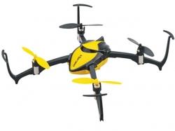 Dromida Verso Inversion Drohne RTF Gelb, Quadrocopter