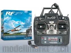 RealFlight 7.5 Flugsimulator mit Elite InterLink Controlle..
