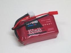 AGA-Power LiPo-Akku 850mAh 11,1V 30C 3S1P