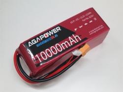 AGA-Power LiPo-Akku 10000mAh 22,2V 25C 6S1P