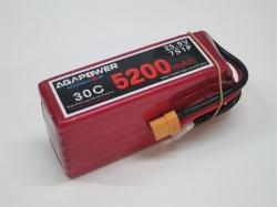 AGA-Power LiPo-Akku 5200mAh 25,9V 30C 7S1P