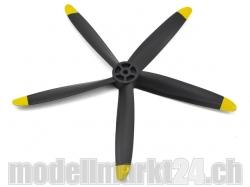 5-Blatt Propeller 10x8 Spitfire MK XIV von E-Flite