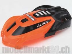 Kabinenhaube orange zu Alias von LaTrax