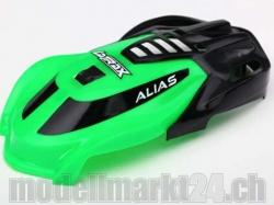 Kabinenhaube grün zu Alias von LaTrax