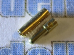 10Paare Bullet-Goldstecker 1.4mm