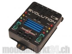 PowerBox Evolution inkl. Sensorschalter und Patchkabel