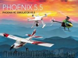 Phoenix RC-Flugsimulator V5.5 mit Orifinal E-Flight/Blade/..