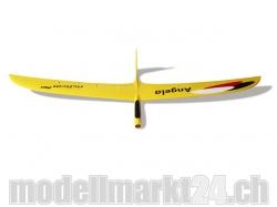 RCRCM E-Angela CFK Spw.2000mm Gelb mit Schutztaschen, RC M..