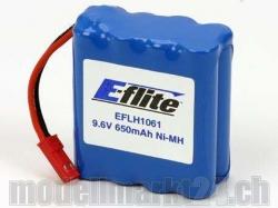 E-Flite Battery NiMh 9.6V 650mAh