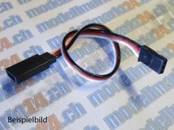 2Stk. Servoverlängerungskabel Robbe/Futaba 20cm, gerade