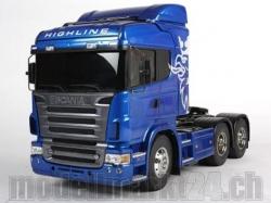 Tamiya Scania R620 Blue Body 6x4 Highline RC-Truck 1:14 Ba..