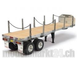 Flachbett-Auflieger RC-Truck 1:14 Bausatz von Tamiya