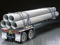 Rungen-Teleskop-Auflieger RC-Truck 1:14 Bausatz von Tamiya