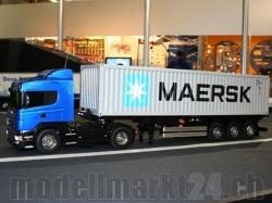 Tamiya Set MAN TGX 18.540 French Blue Edition 4x2 XLX und ..
