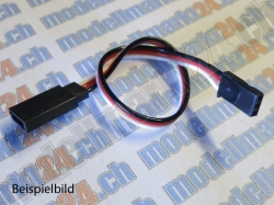 2Stk. Servoverlängerungskabel Robbe/Futaba 30cm, gerade