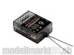 Spektrum AR6600T DSMX 6-Kanal Empfänger mit Telemetrie