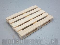 SBB-Palette 1:14 aus Holz, Handgefertigt