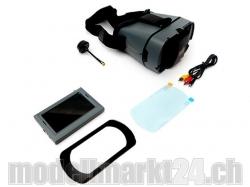 """Videomonitor 4.3"""" mit HeadSet, Halterung und Sonnenblende .."""