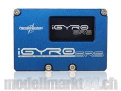 PowerBox iGyro SRS inkl. GPS-Modul, Sensorschalter und USB..
