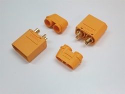 XT90-S Stecker mit Kabelschutzhülle 2Stk.